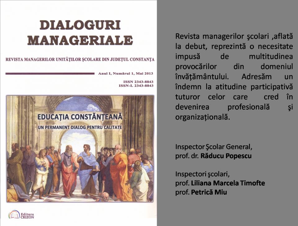 Revista ISJ Constanţa